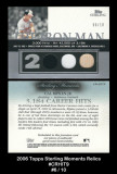 2006-Topps-Sterling-Moments-Relics-CRHIT9