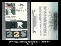 2006-Topps-Sterling-Moments-Relics-CRHR11