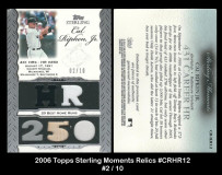 2006-Topps-Sterling-Moments-Relics-CRHR12