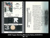 2006-Topps-Sterling-Moments-Relics-CRHR14