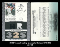 2006-Topps-Sterling-Moments-Relics-CRHR15