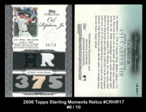2006-Topps-Sterling-Moments-Relics-CRHR17