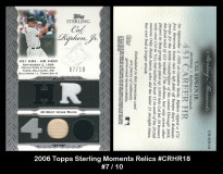2006-Topps-Sterling-Moments-Relics-CRHR18