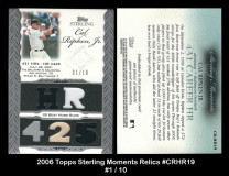 2006-Topps-Sterling-Moments-Relics-CRHR19