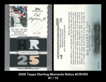 2006-Topps-Sterling-Moments-Relics-CRHR3
