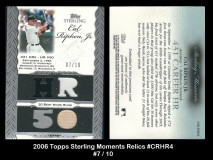 2006-Topps-Sterling-Moments-Relics-CRHR4