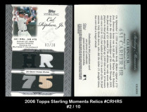 2006-Topps-Sterling-Moments-Relics-CRHR5