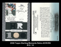 2006-Topps-Sterling-Moments-Relics-CRHR6