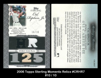 2006-Topps-Sterling-Moments-Relics-CRHR7