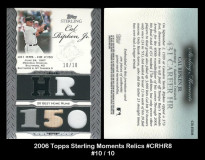 2006-Topps-Sterling-Moments-Relics-CRHR8