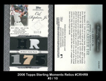2006-Topps-Sterling-Moments-Relics-CRHR9