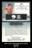 2006-Topps-Sterling-Moments-Relics-CRSS3