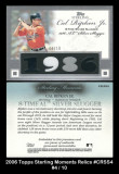 2006-Topps-Sterling-Moments-Relics-CRSS4