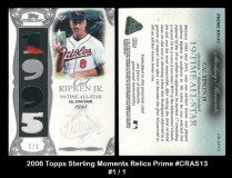 2006-Topps-Sterling-Moments-Relics-Prime-CRAS13