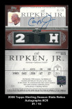 2006-Topps-Sterling-Season-Stats-Relics-Autographs-CR