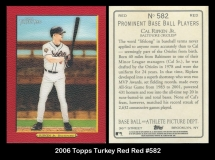 2006 Topps Turkey Red Red #582