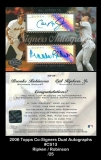 2006 Topps Co-Signers Dual Autographs #CS13