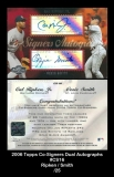 2006 Topps Co-Signers Dual Autographs #CS16