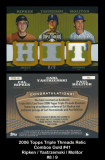 2006-Topps-Triple-Thread-Relic-Combos-Gold-41