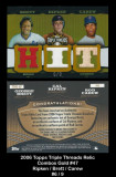 2006-Topps-Triple-Thread-Relic-Combos-Gold-47