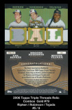 2006-Topps-Triple-Thread-Relic-Combos-Gold-79