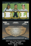 2006-Topps-Triple-Thread-Relic-Combos-Gold-85