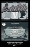 2006-Topps-Triple-Thread-White-Whale-Relic-71