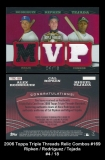 2006 Topps Triple Threads Relic Combos #169