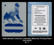 2006-Ultimate-Collection-Legendary-Materials-Printing-Plates-Cyan-CR2