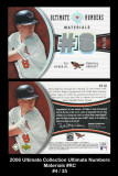 2006-Ultimate-Collection-Ultimate-Numbers-Materials-RC