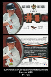 2006-Ultimate-Collection-Ultimate-Numbers-Patches-RC
