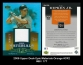 2006 Upper Deck Epic Materials Orange #CR2