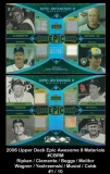 2006 Upper Deck Epic Awesome 8 Materials #CBRM