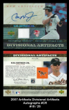 2007 Artifacts Divisional Artifacts Autographs #CR