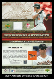 2007 Artifacts Divisional Artifacts #CR