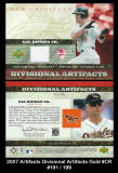 2007 Artifacts Divisional Artifacts Gold #CR