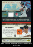 2007 Artifacts Divisional Artifacts Limited #CR