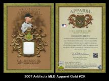 2007-Artifacts-MLB-Apparel-Gold-CR