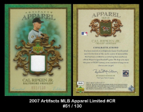 2007-Artifacts-MLB-Apparel-Limited-CR