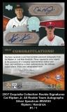 2007 Exquisite Collection Rookie Signatures Cal Ripken Jr All Rookie Team Autographs SIlver Spectrum #RAR30