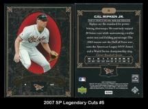 2007 SP Legendary Cuts #5