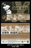 2007 SPx Iron Man #IM13