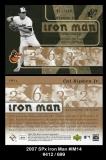 2007 SPx Iron Man #IM14