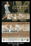 2007 SPx Iron Man #IM15