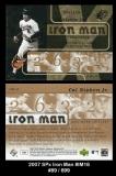 2007 SPx Iron Man #IM16
