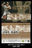 2007 SPx Iron Man #IM17
