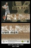2007 SPx Iron Man #IM2