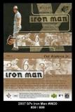2007 SPx Iron Man #IM20
