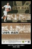 2007 SPx Iron Man #IM21