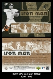 2007 SPx Iron Man #IM22